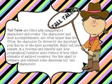 "Common Core ""Keep Track of characters in folktales, legends, tall tales"""