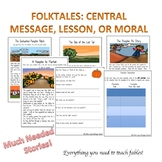 Folktales for Fall: Central Message, Lesson or Moral