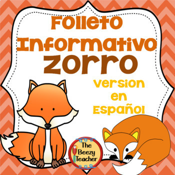 Folleto Informativo - Zorro