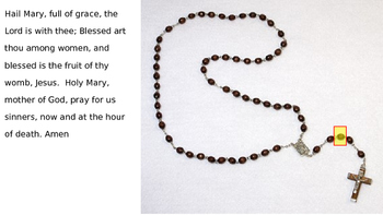 Follow Along Rosary