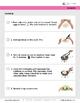 Follow Along Visual Recipes Simple Sentences & Comprehension Sheets #5