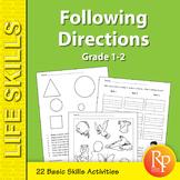 Beginning Following Directions Skills 2
