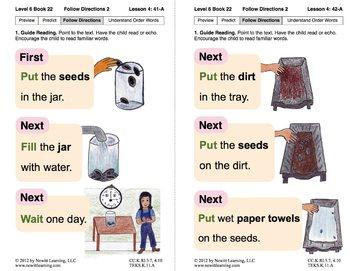 Follow Directions 2: Lesson 4, Book 22 (Newitt Nonfiction Series)