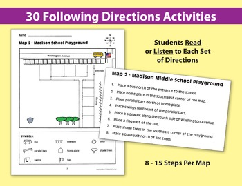 Follow Directions Around the Town