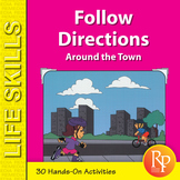 Following Directions-  Learning Cardinal Directions & Map Skills