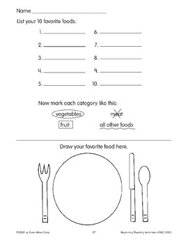 Follow Directions: List Your 10 Favorite Foods