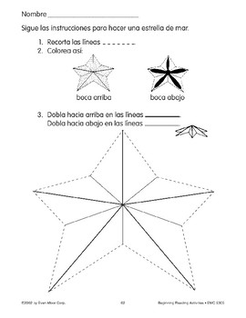 Follow Directions: Make a Sea Star
