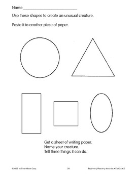 Follow Directions: Use These Shapes
