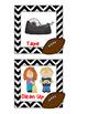 Follow Directions - Visual Task Cards - Football Theme