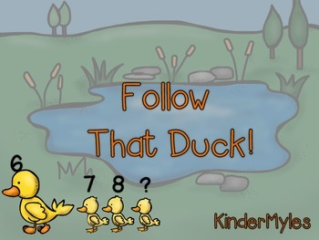 Follow That Duck! {Counting On}