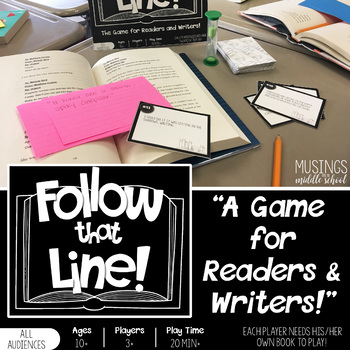 Follow That Line! A Game for Readers and Writers!