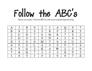 Follow The Alphabet