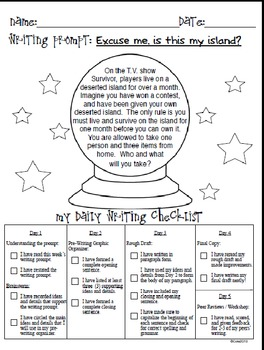 Follow The Process: Complete Weekly Paragraph Writing Unit