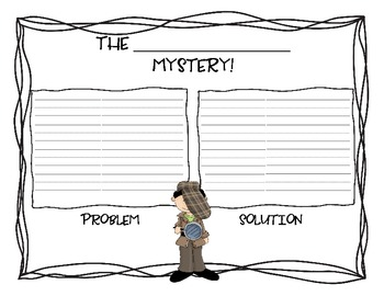 Mystery Week! Follow the Clues!!!  Mystery Genre, Drawing Conclusions, Inferring