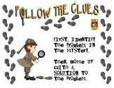 Mystery Week! Follow the Clues!!!  Mystery Genre, Drawing