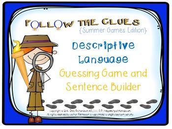 Follow the Clues: The Summer Games {A Descriptive Language Game}