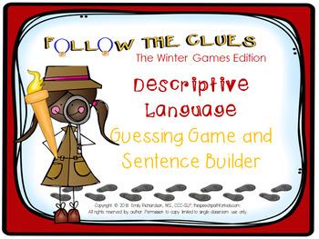 Follow the Clues: The Winter Games {A Descriptive Language Game}