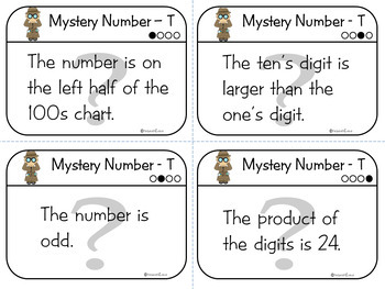 CRITICAL THINKING: Follow the Clues to the Mystery Number