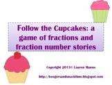Follow the Cupcakes: a fraction game