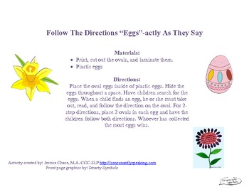 """Follow the Directions """"Eggs""""-actly As They Say"""