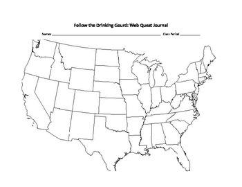 Follow the Drinking Gourd Web Scavenger Hunt