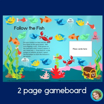 Follow the Fish Preschool games for the letter F