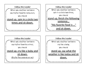 Follow the Leader 36 Grades 4-6