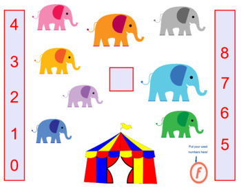 Elephant Song & Activity | Follow the Leader | Counting | mp3, PDF, SMART, Video