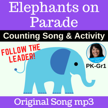 "Follow the Leader Singing Game | ""Elephants on Parade"" by Lisa Gillam 