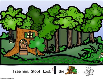 Follow the Leprechaun to Find His Gold