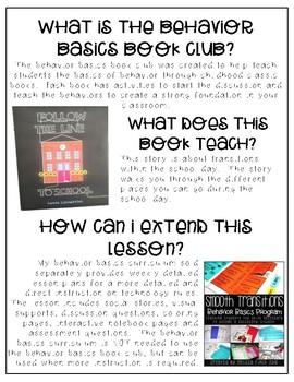 Follow the Line- Behavior Basics Book Club
