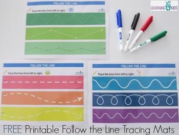Follow the Line Tracing Mats
