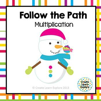 Multiplication Facts Follow the Path