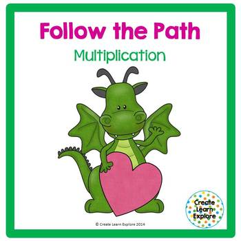 Multiplication Facts: Follow the Path