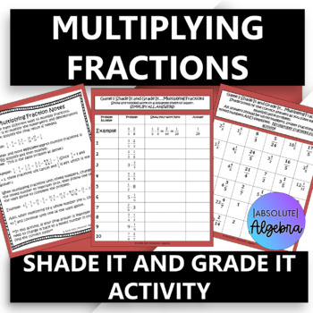 Follow the Path...Multiplying Fractions