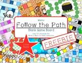 Follow the Path Christmas Winter Freebie