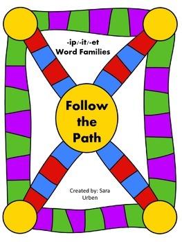 Follow the Path: -ip/-it/-et Words