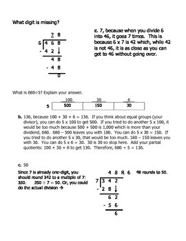 Follow the Path_Long Division Self-Checking Practice with Explanations