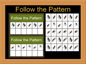 Follow the Pattern Bugs