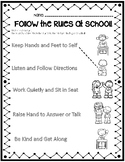 Follow the Rules at School