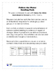 Follow the Water: Reading Activity Pack
