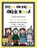 Follow the Yellow Brick Road: Word Work for Long O ( o_e, oa & ow)