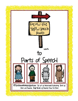 Follow the Yellow Brick Road to Parts of Speech!