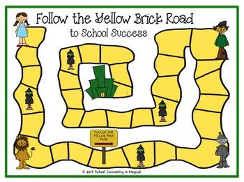 """Follow the Yellow Brick Road to School Success"""