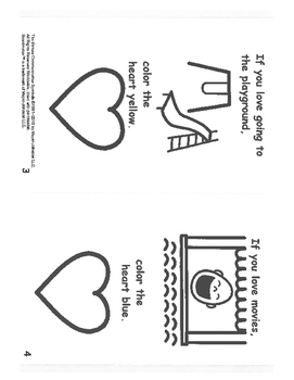 Follow the Directions with Valentines- mini book