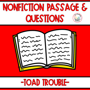 Follower FREEBIE! Nonfiction Passage & Questions RI.3.1, R