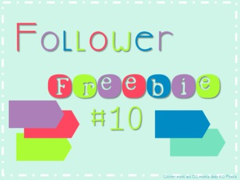 Follower Freebie #10~Accent Flag C.U. Okay!