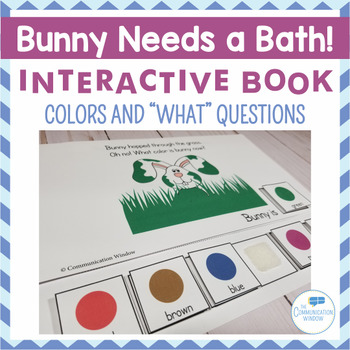 Freebie! Bunny Needs a Bath Interactive Book!