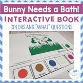 Free Spring Interactive Book! Bunny Needs a Bath Interactive Book!