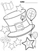Follower Freebie - Coloring Pages : St. Patrick's Day
